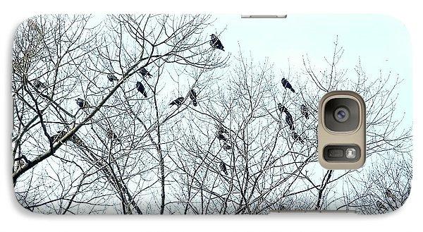Crow Trees Galaxy S7 Case