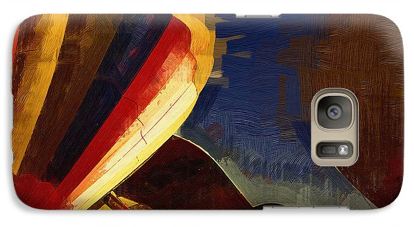 Galaxy Case featuring the digital art Crowd Confusion by Kirt Tisdale