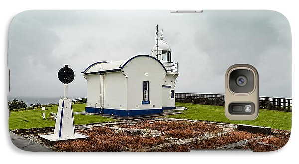 Galaxy Case featuring the photograph Crowd Head Light House 01 by Kevin Chippindall