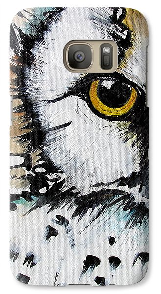 Galaxy Case featuring the painting Crown by Nicole Gaitan