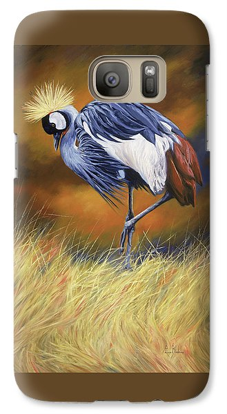 Crane Galaxy S7 Case - Crowned by Lucie Bilodeau