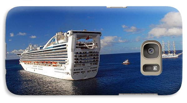 Galaxy Case featuring the photograph Cruising Around by Gary Wonning