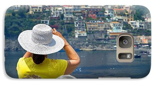 Galaxy Case featuring the photograph Cruising The Amalfi Coast by Keith Armstrong