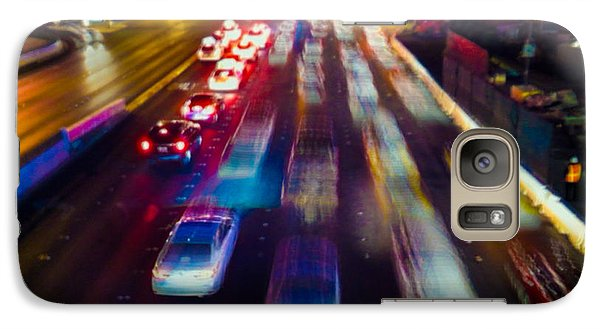 Galaxy S7 Case featuring the photograph Cruising The Strip by Alex Lapidus
