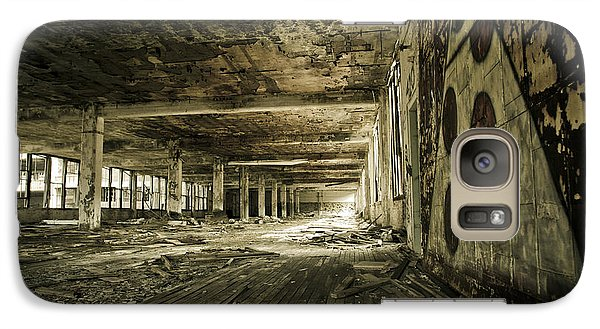 Galaxy Case featuring the photograph Crumbling History by Priya Ghose