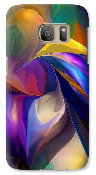 Galaxy Case featuring the digital art Crusader by David Lane