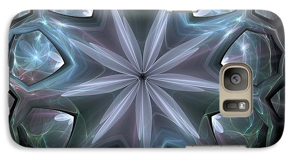 Galaxy Case featuring the digital art Crystal Ball by Svetlana Nikolova