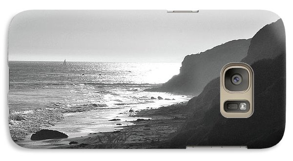 Galaxy Case featuring the photograph Crystal Cove I by Suzette Kallen