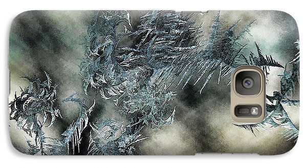 Galaxy Case featuring the digital art Crystal Heaven by Steven Richardson
