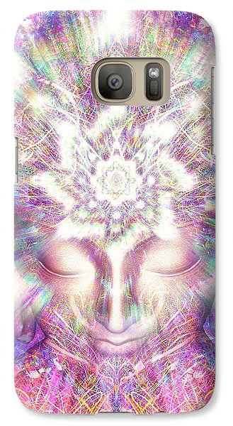 Galaxy Case featuring the painting Crystal Palace by Jalai Lama