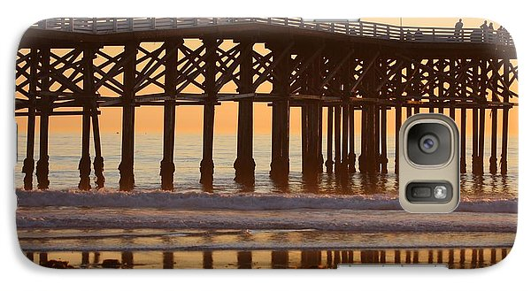 Crystal Pier Galaxy S7 Case by Nathan Rupert