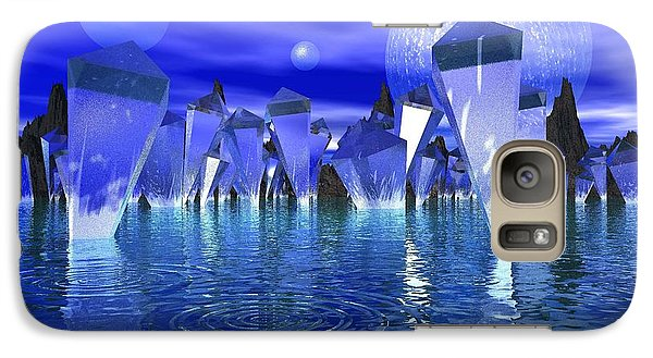Galaxy Case featuring the photograph Crystal River by Mark Blauhoefer