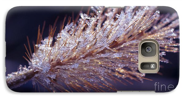 Galaxy Case featuring the photograph Crystalline Beauty by Julie Clements