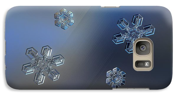 Galaxy Case featuring the photograph Crystals Of Day And Night by Alexey Kljatov