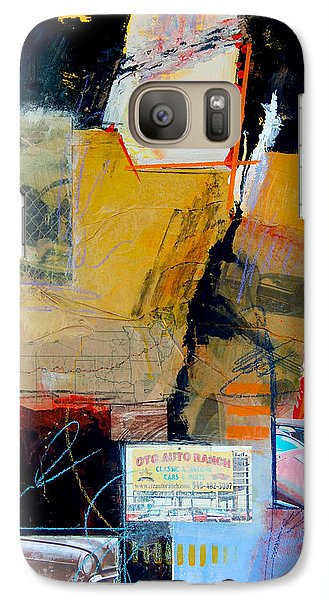 Galaxy Case featuring the painting Ctc Auto Ranch by Ron Stephens