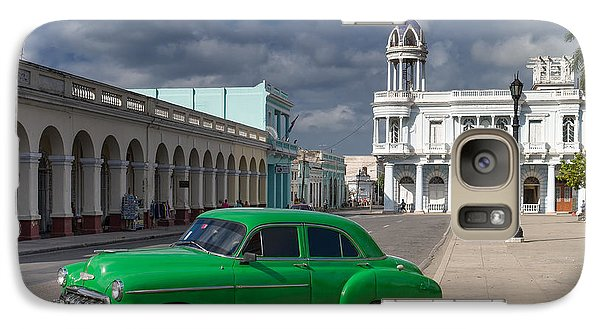 Galaxy Case featuring the photograph Cuba Green  by Juergen Klust
