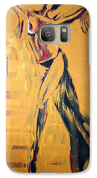 Galaxy Case featuring the painting Cuba Rhythm by Jarmo Korhonen aka Jarko