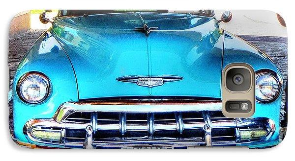 Galaxy Case featuring the photograph Cuban Taxi by Pennie  McCracken