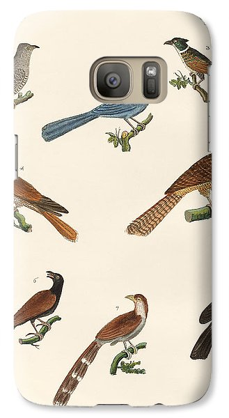Cuckoos From Various Countries Galaxy S7 Case by Splendid Art Prints