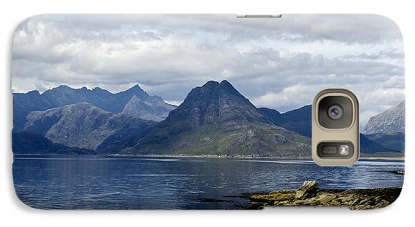Galaxy Case featuring the photograph Cuillin Hills From Elgol Isle Of Skye by Sally Ross