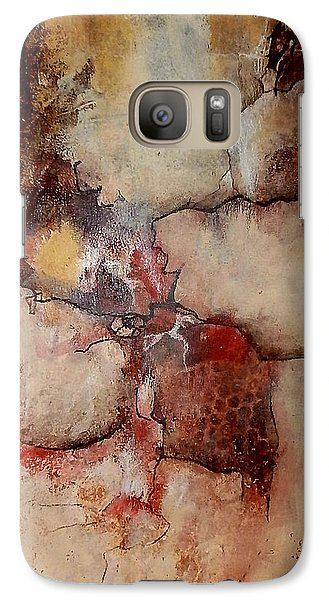 Galaxy Case featuring the painting Culture Wars In The Land Of Plenty by Buck Buchheister