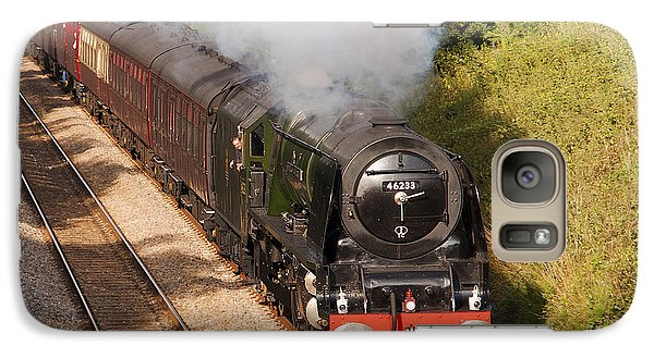 Galaxy Case featuring the photograph Cumbrian Express II by Paul Scoullar