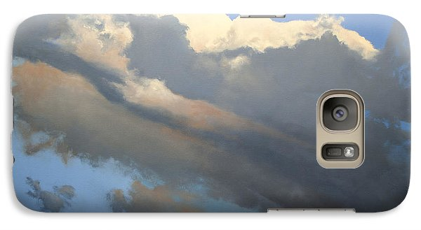 Galaxy Case featuring the painting Cumulus 2 by Cap Pannell
