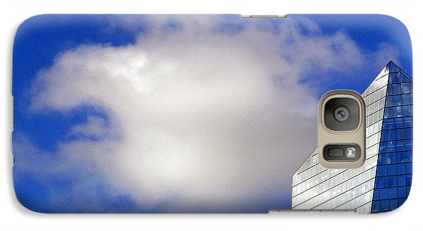 Galaxy Case featuring the photograph Cumulus And Cira by Lisa Phillips