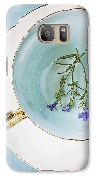 Galaxy Case featuring the photograph Cup Of Three by Amy Weiss