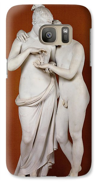 Louvre Galaxy S7 Case - Cupid And Psyche by Antonio Canova