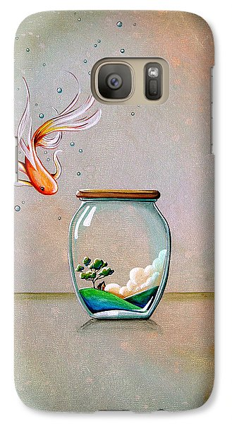 Curiosity Galaxy S7 Case by Cindy Thornton