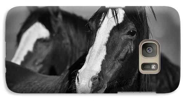Curious Horses Galaxy S7 Case