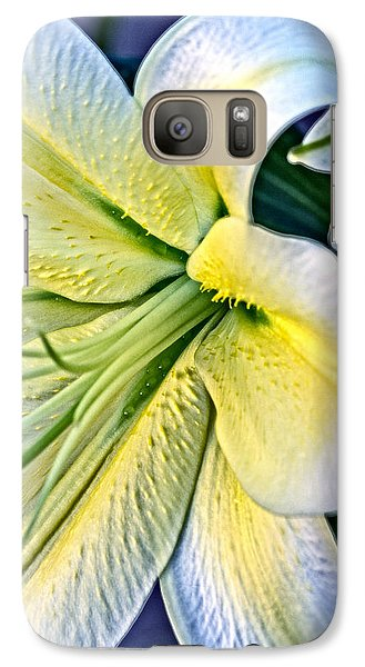 Galaxy Case featuring the photograph Curl Of A Lily by Dave Garner