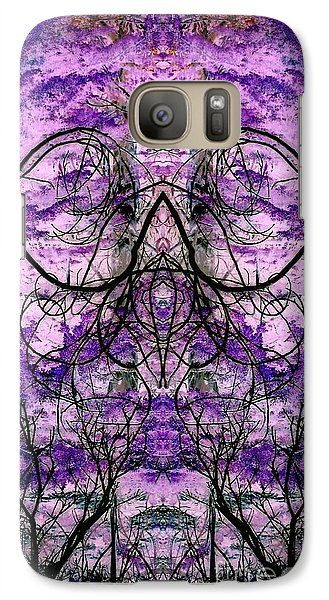 Galaxy Case featuring the photograph Curly Branches by Karen Newell