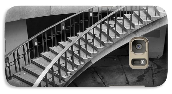 Galaxy Case featuring the photograph Curly Stairway by Dorin Adrian Berbier