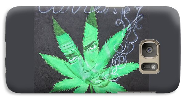 Galaxy Case featuring the painting Currensy by Jeepee Aero