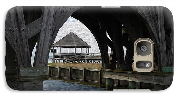 Galaxy Case featuring the digital art Currituck Inlet by Kelvin Booker