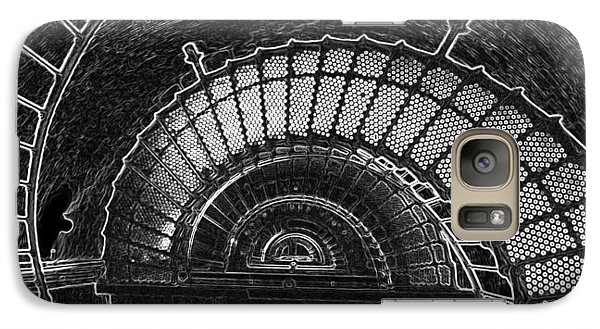 Galaxy Case featuring the photograph Currituck Lighthouse Stairs by Greg Reed