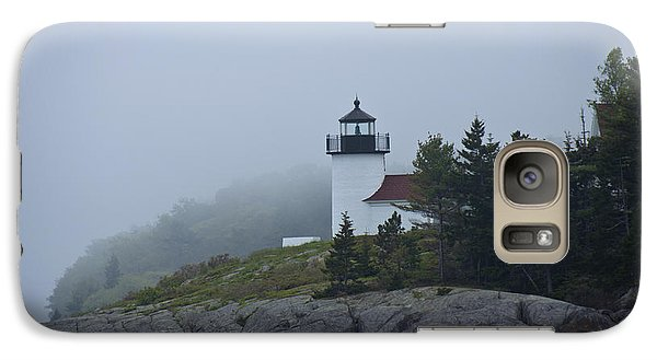Galaxy Case featuring the photograph Curtis Island Lighthouse by Daniel Hebard