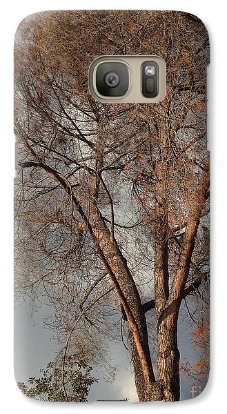 Galaxy Case featuring the photograph Curtsy IIi by Nora Boghossian
