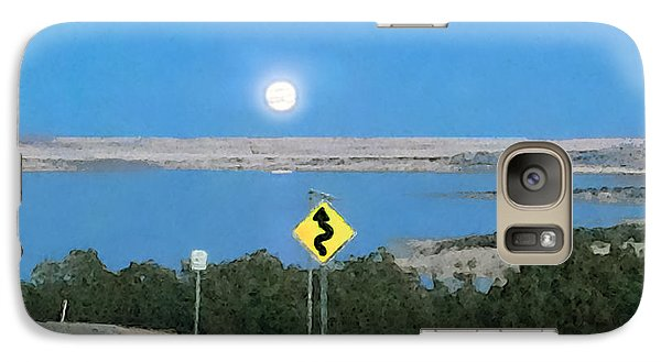 Galaxy Case featuring the digital art Curved Road Ahead-1 by David Blank