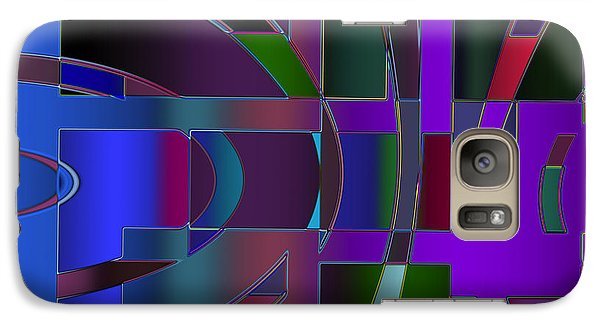 Curves And Trapezoids 2 Galaxy S7 Case