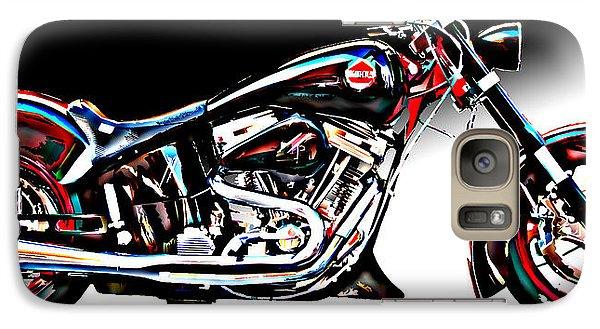 Galaxy Case featuring the photograph Custom Bike Study 1 by Samuel Sheats