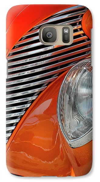 Galaxy Case featuring the photograph Custom Car Detail by Dave Mills