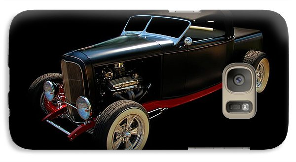 Vintage Car Galaxy Case featuring the photograph Custom Hot Rod by Aaron Berg