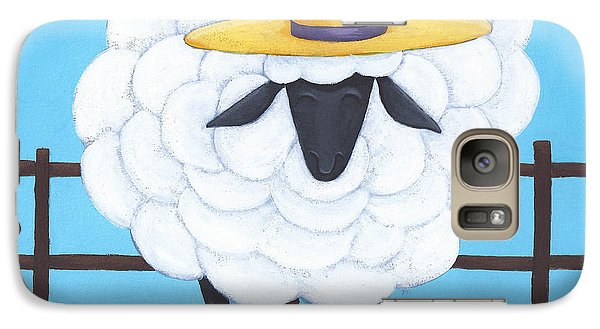 Cute Sheep Nursery Art Galaxy S7 Case
