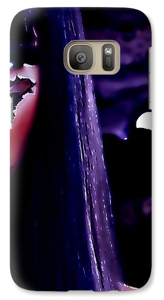 Galaxy Case featuring the digital art Cyber Love by Persephone Artworks