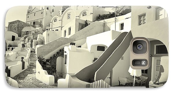 Galaxy Case featuring the photograph Cycladic Style Houses by Aiolos Greek Collections