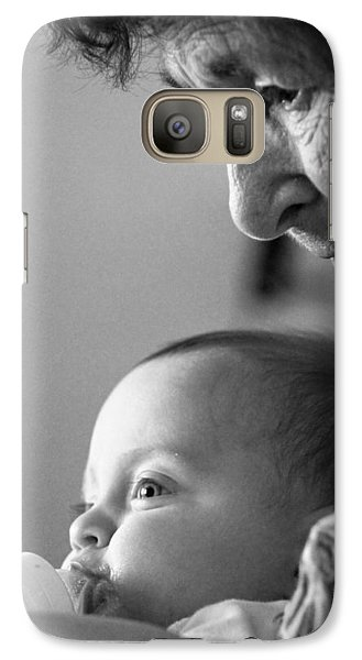 Galaxy Case featuring the photograph Cycle Of Life by Carolina Liechtenstein