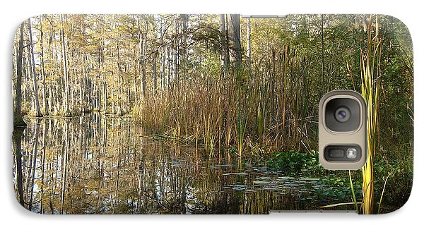 Galaxy Case featuring the photograph Cypress Gardens 1 by Ellen Tully